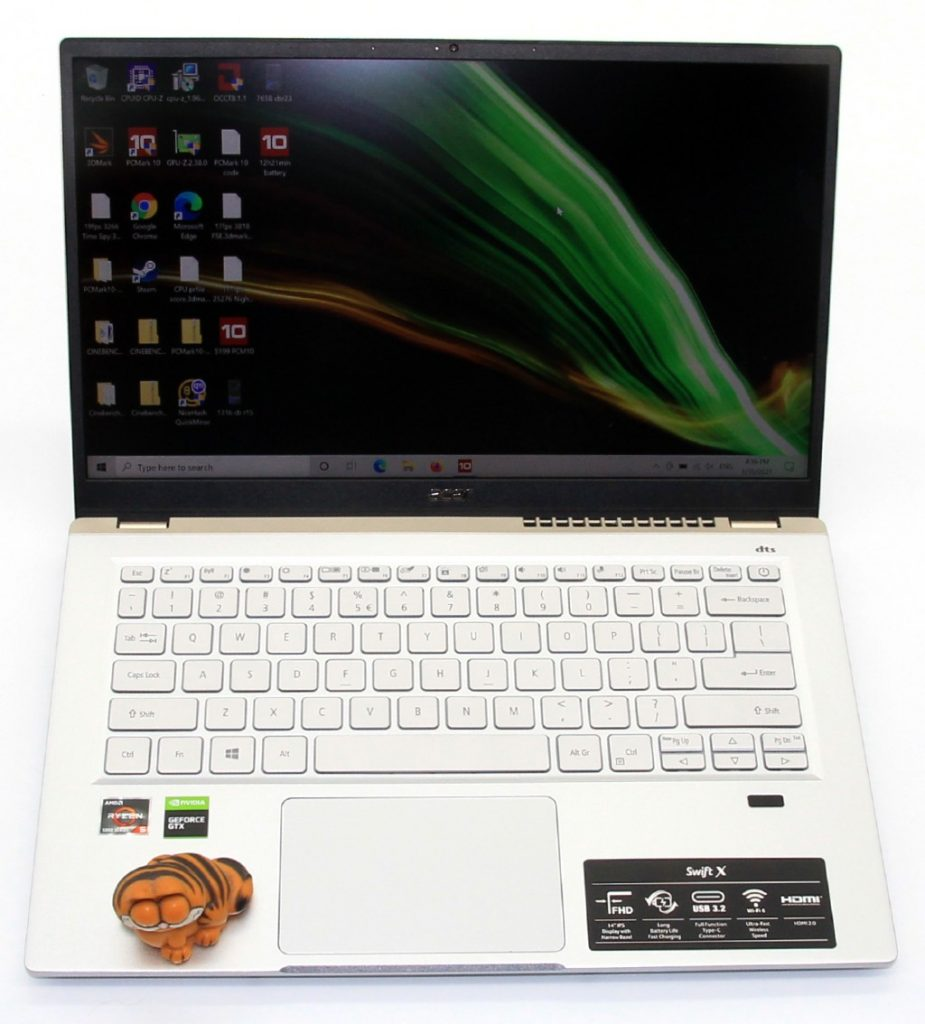 acer swift x front